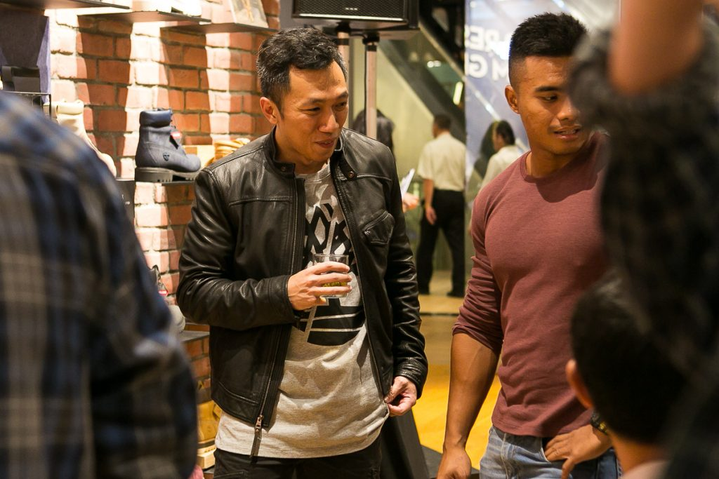 Readers at Timberland x AUGUSTMAN event