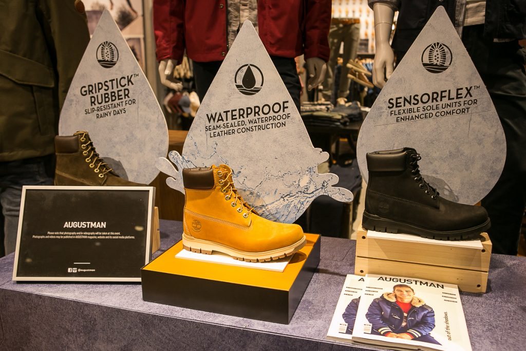 Timberland six-inch boots