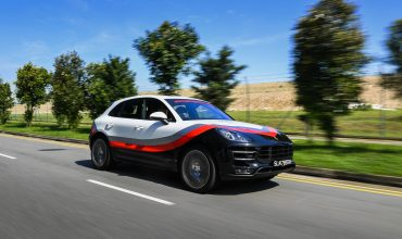 Driving the Porsche Macan Turbo, the SG Variant