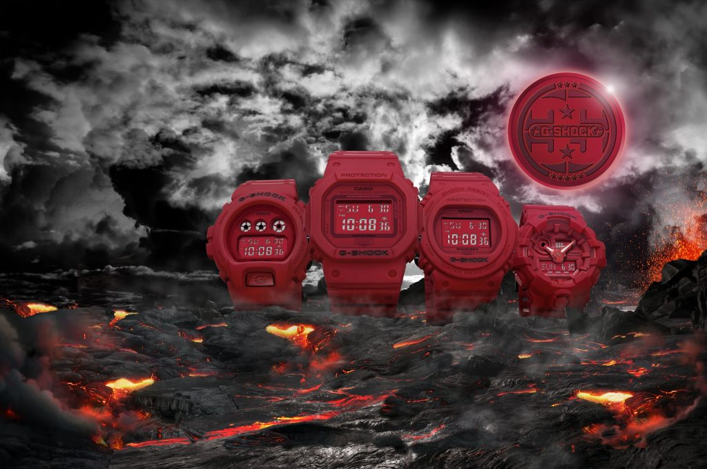 G-Shock RED-OUT