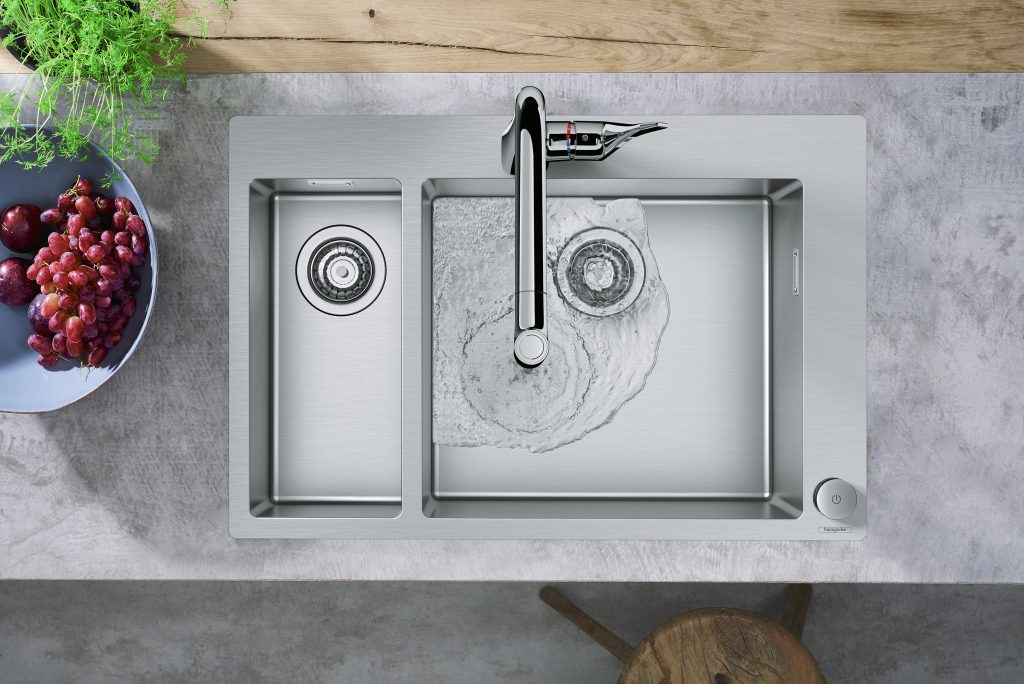 Hansgrohe Kitchen Sink