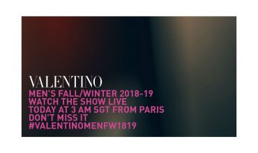 Catch Valentino Fall/Winter Menswear 2018's Live Stream Here