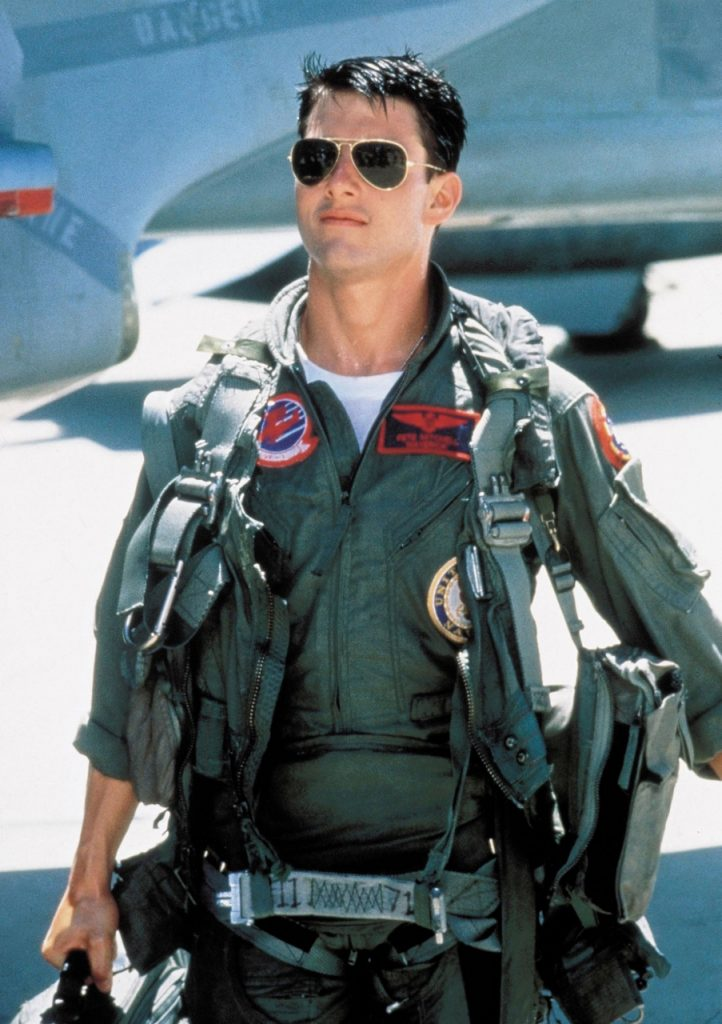 cec2a8b5f3 The Maverick of mavericks Tom Cruise in Top Gun (1986) returned the Aviator  to its roots in the sky.