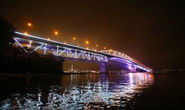 Solar Power for the Auckland Harbour Bridge on Waitangi Day