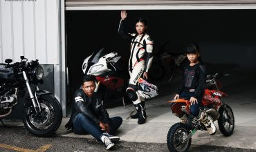 Biker Fariq Azlan and the Family Hobby