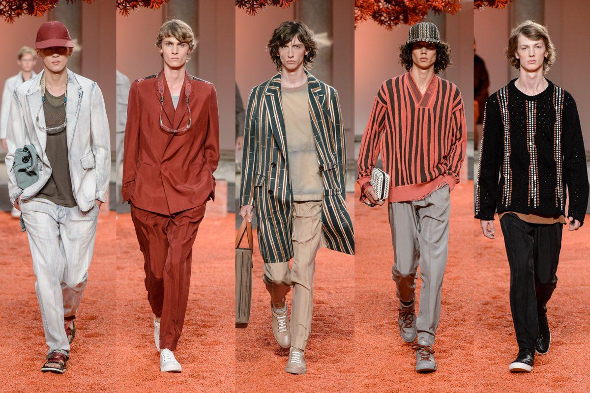 Trend Report Spring Summer 2018  Ermenegildo Zegna Couture ... 476362b1325