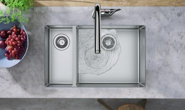 Hansgrohe Sinks: Your Favourite Kitchen Teammate