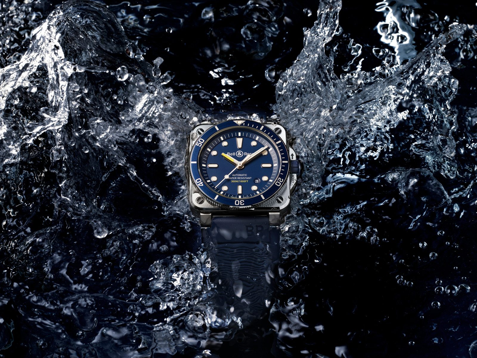 Bell & Ross BR03-92 Diver in blue