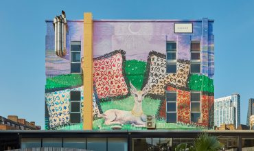 Illustrations of Gucci Décor on Display on Gucci ArtWalls