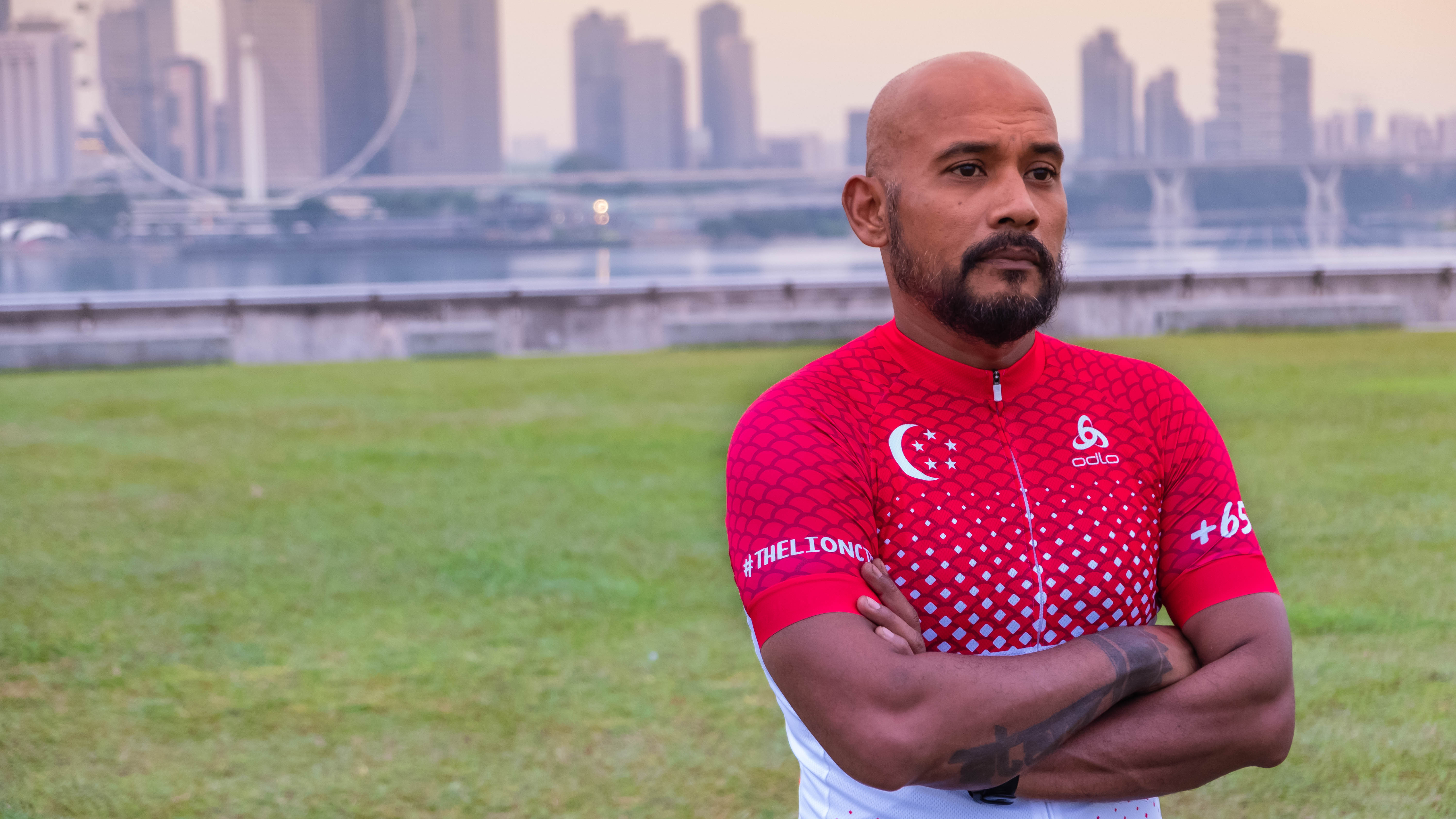 Odlo's Singapore-inspired limited edition cycling jersey