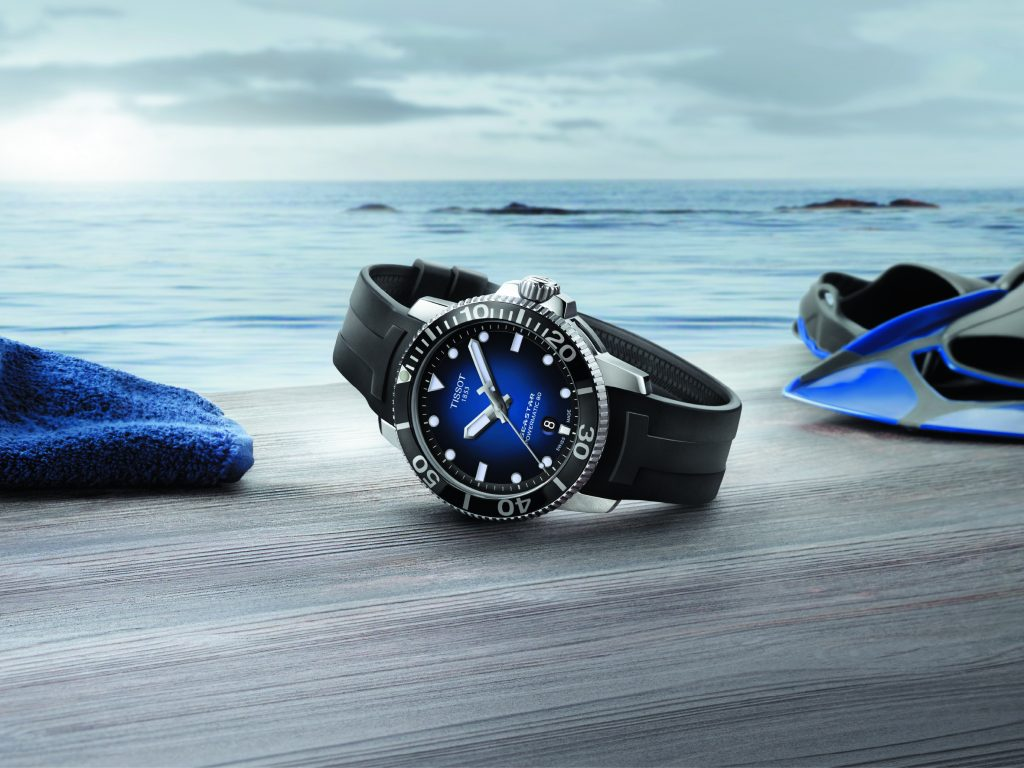 6305bd382 Tissot: The Seastar 1000 Brings You to Another World
