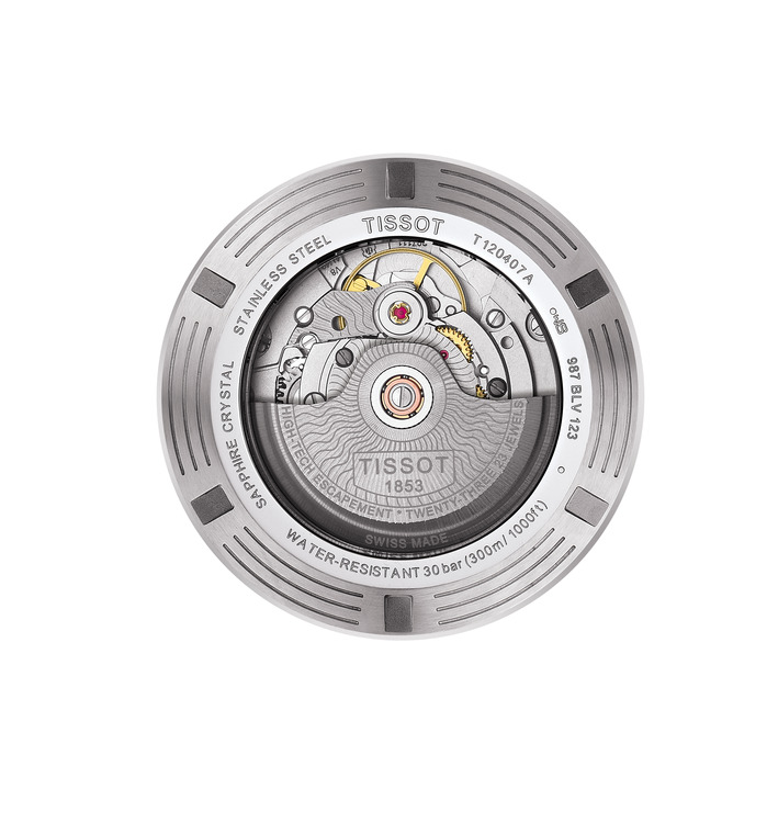 The Tissot Powermatic 80 movement