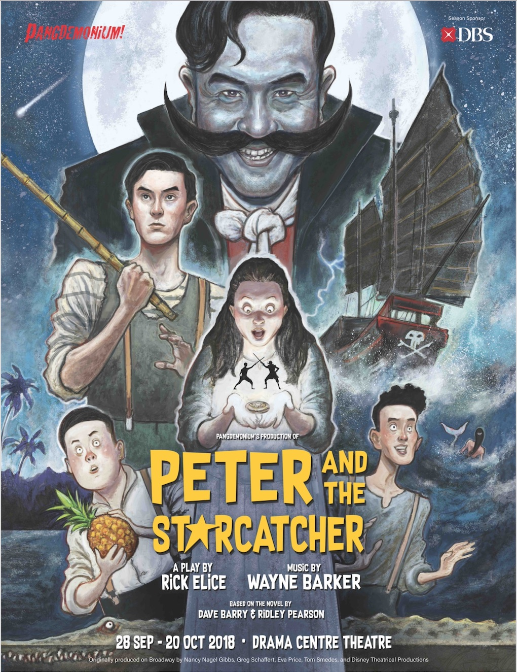 The poster for Peter and the Starcatcher