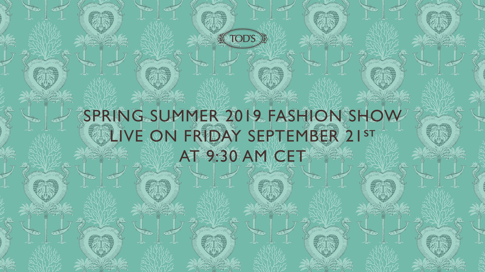 Catch Tod's Spring/Summer 2019 show live from Milan