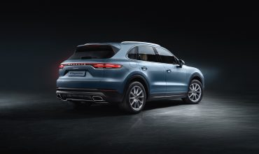 Going for a ride on the all-new Porsche Cayenne