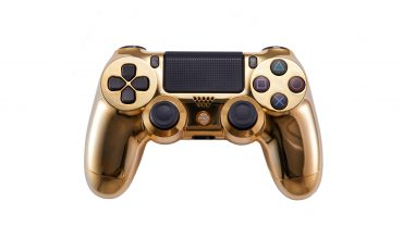 Will a gold-plated, diamond-encrusted gaming controller help you aim better?