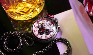 Bomberg's Bolt-68 Racing chronograph is big, bold, and built for speed