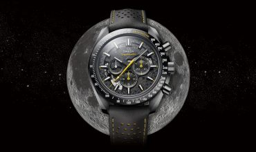 Omega honours 50 years of Apollo 8's legendary mission with the new Speedmaster Dark Side of the Moon Apollo 8