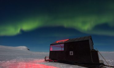 Can't top this: Watch the Northern Lights from this 'hotel on skis' in the Arctic