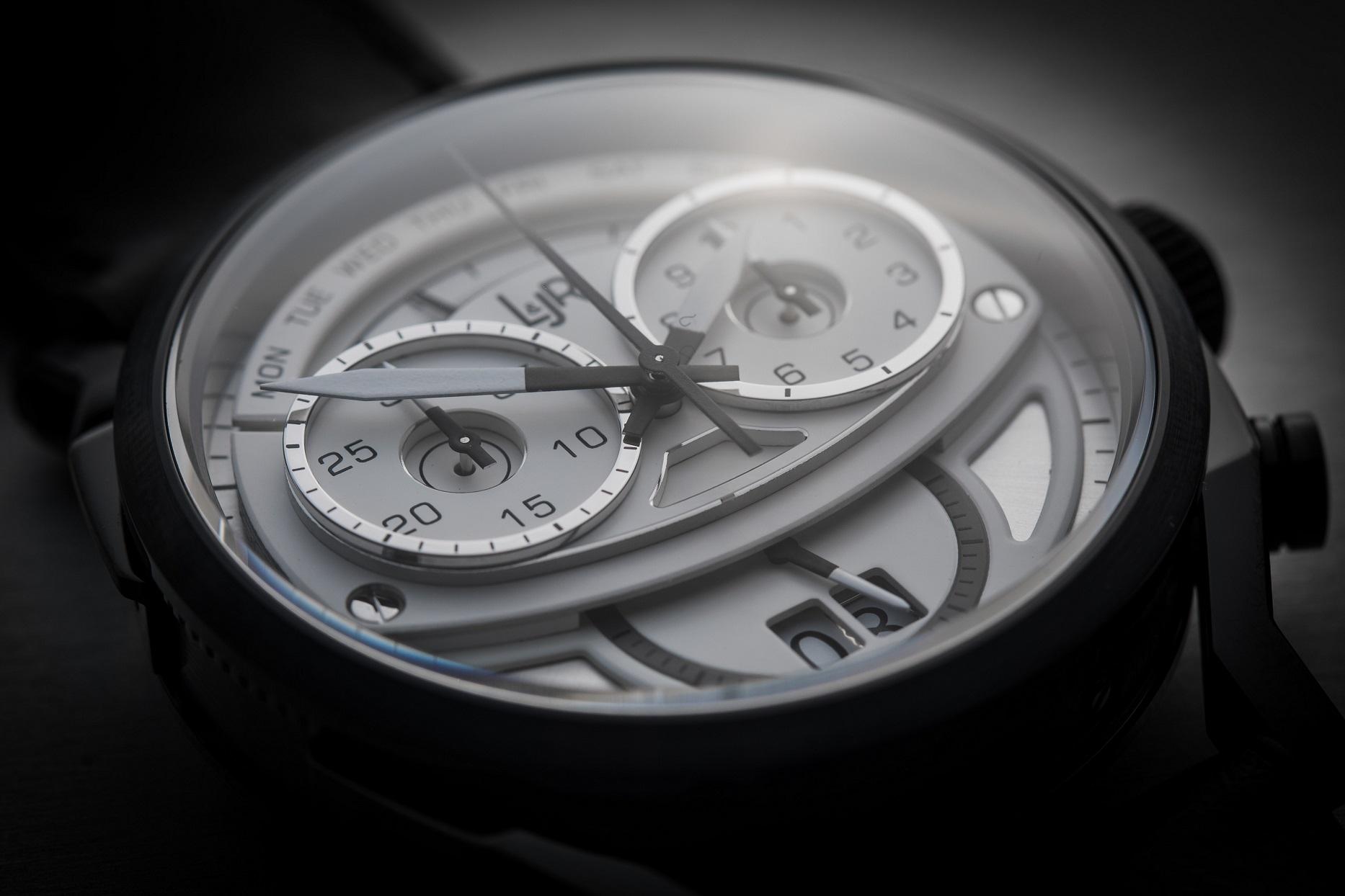 L&JR Step 1 chronograph model