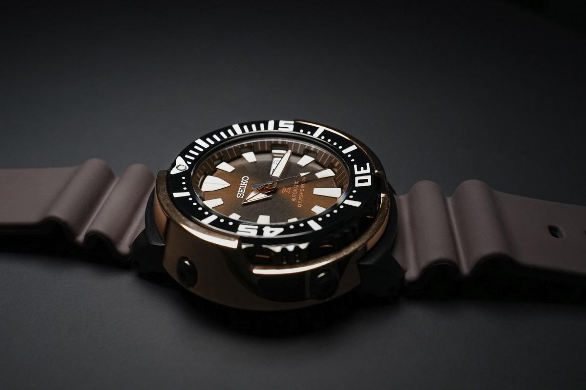 """Prove the depths with Seiko's """"Yellowfin Tuna"""" Prospex Diver"""