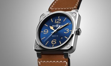 Bell & Ross Celebrates 10 Years of the Instrument BR Heritage with the new BR 03-92 Blue Golden Heritage