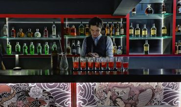 Review: Enter Chi Kinjo's Highball Den – where (you've guessed it) highballs reign supreme