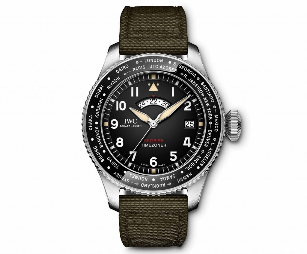 IWC Pilot's Watch Timezoner Spitfire Edition The Longest Flight