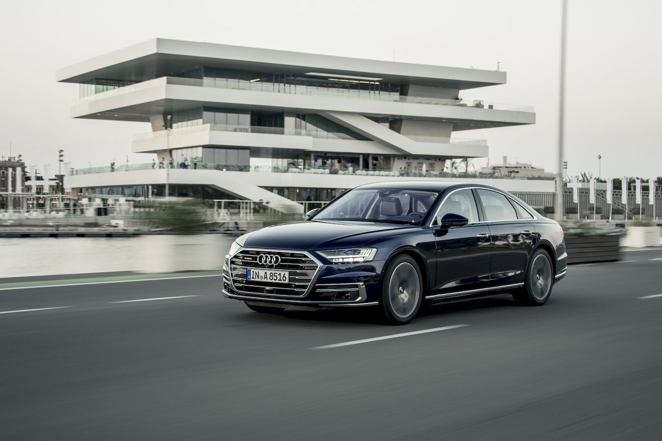 Six reasons why you want to ride in the new Audi A8