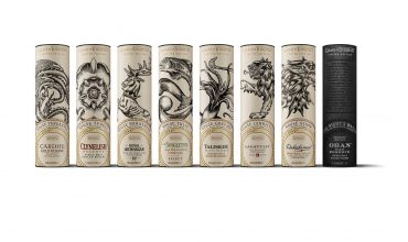 The official Game of Thrones single malt whiskies arrive in Singapore