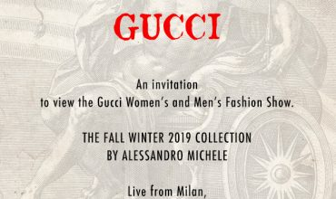Watch here: The Gucci FW19 show live from Milan