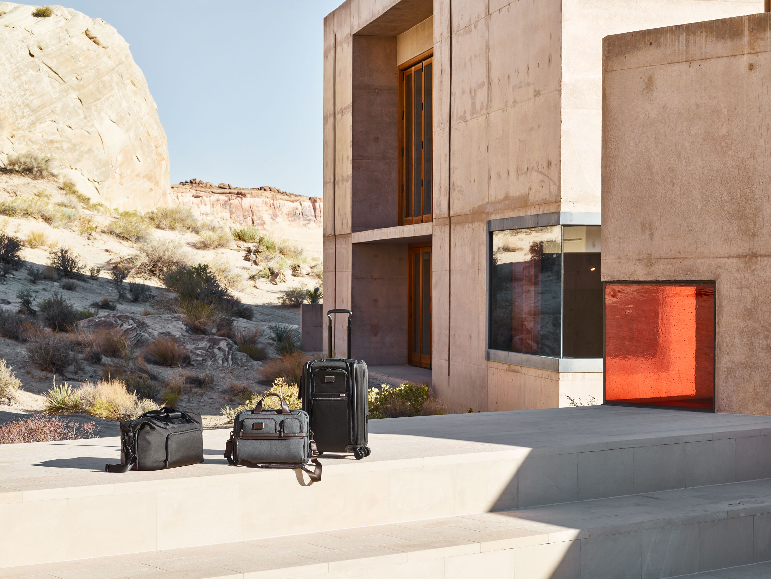 The Tumi Alpha 3 collection