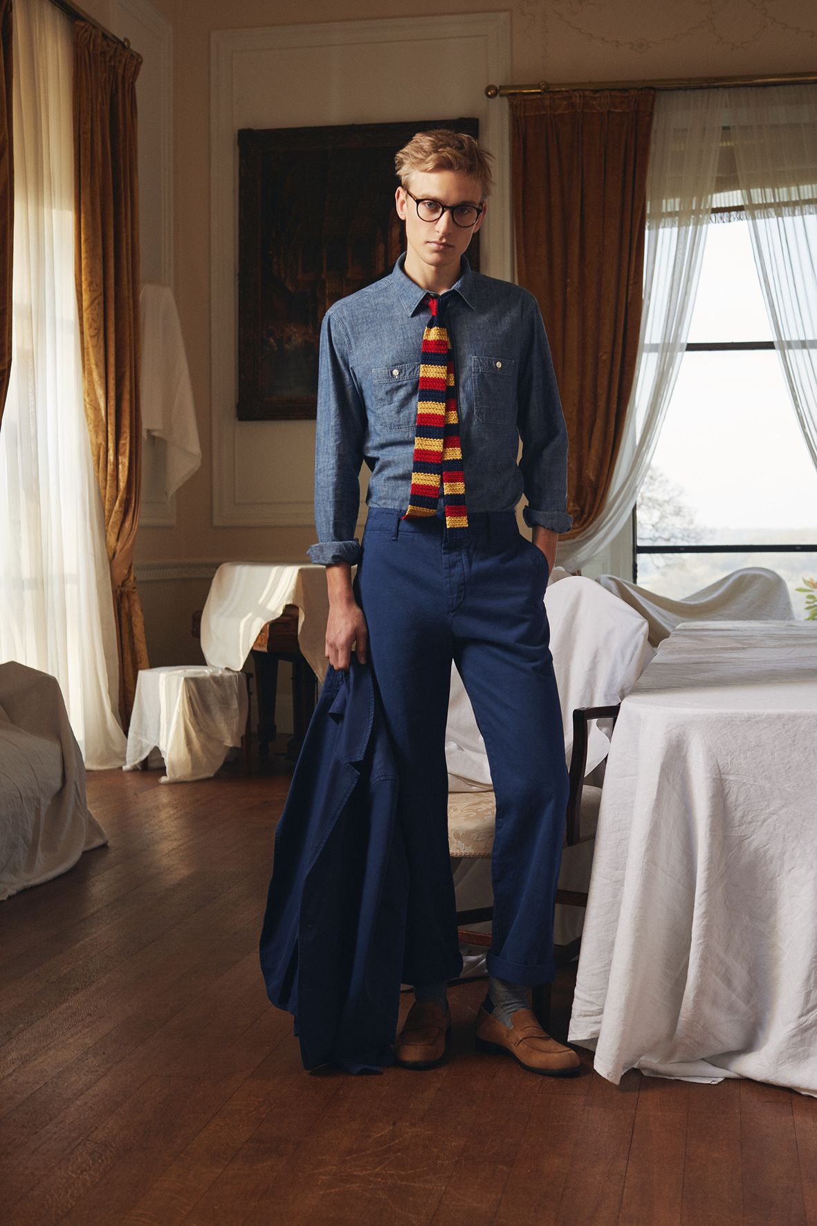5 wardrobe Mr P. by Mr. Porter essentials to bring you into spring