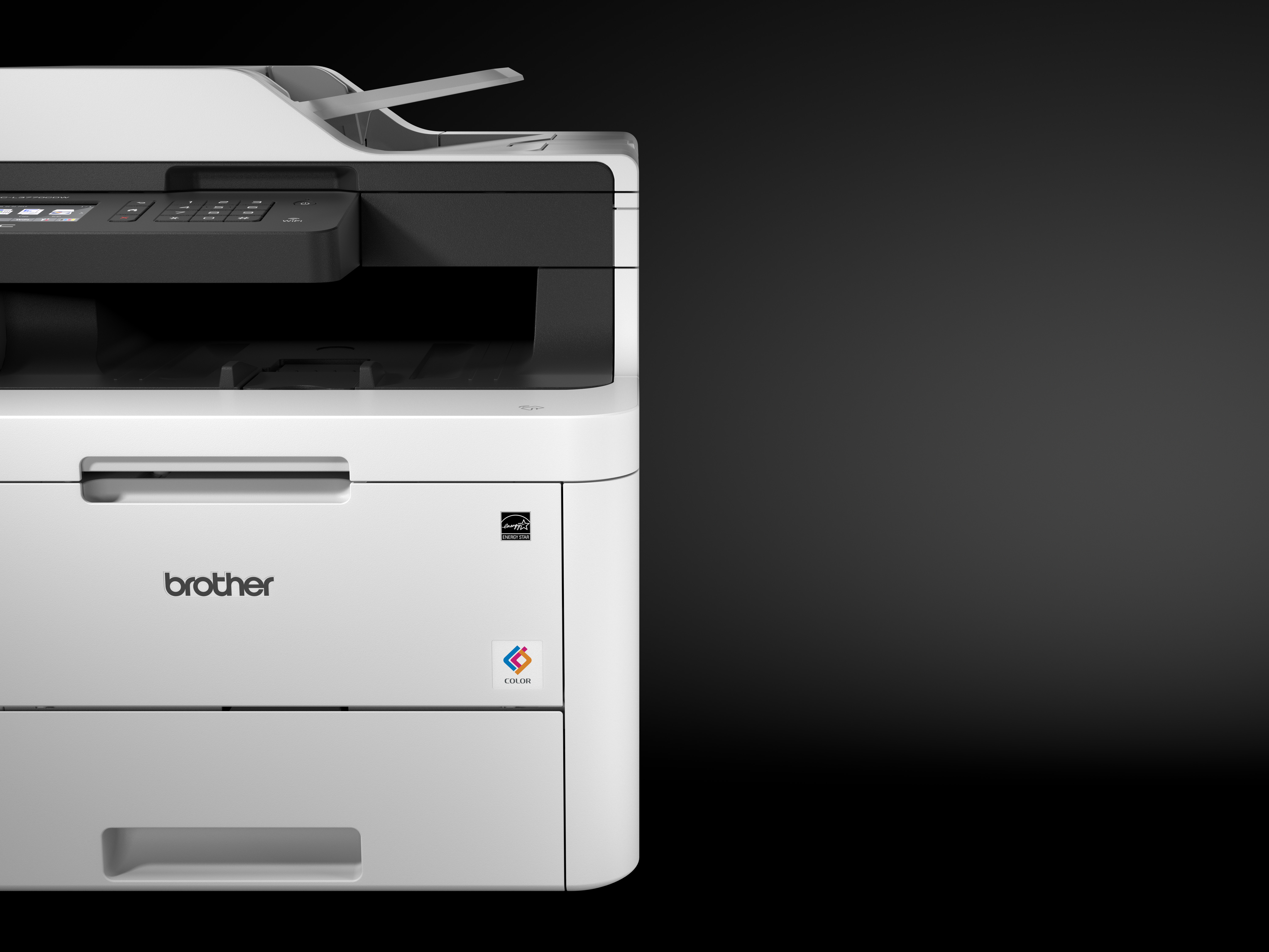 One - model number MFCL3770CDW - of the five new printers in the range