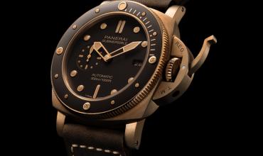 Panerai Launches New Bronzo Watch Enhanced With Ceramic
