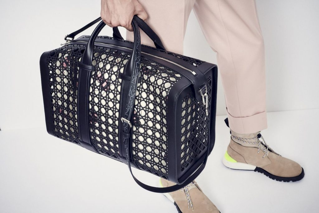 Dior Perforated Cannage bag