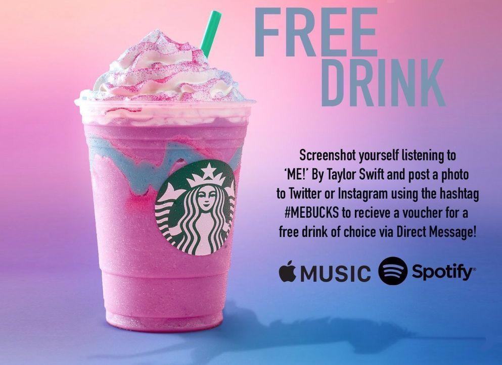 Bogus free Starbucks joke