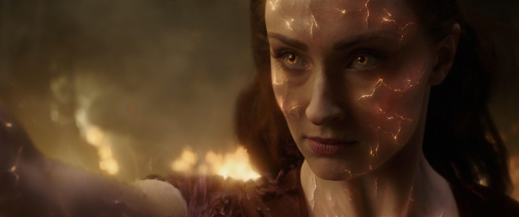 Sophie Turner as Jean Grey/Phoenix