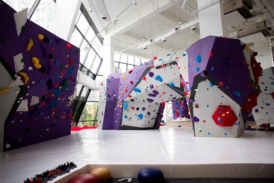 best bouldering gyms in singapore