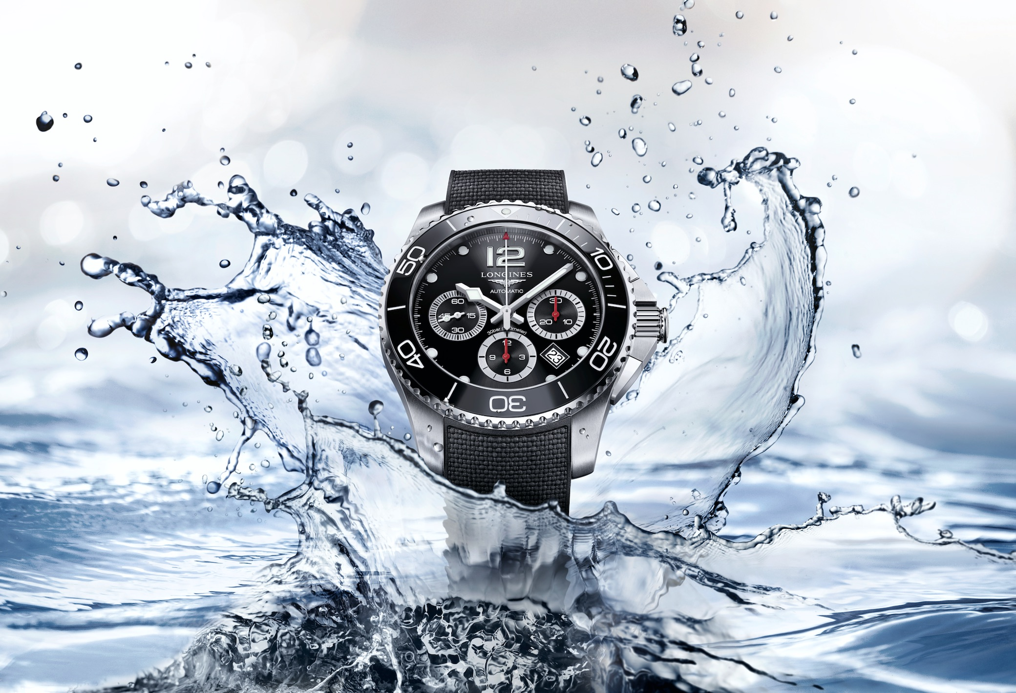 The Longines HydroConquest chronograph
