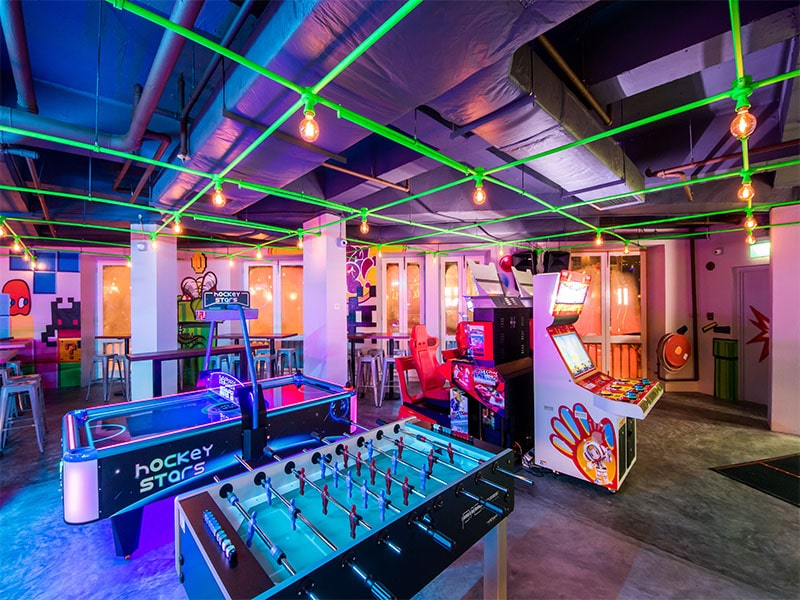best arcade bars in singapore