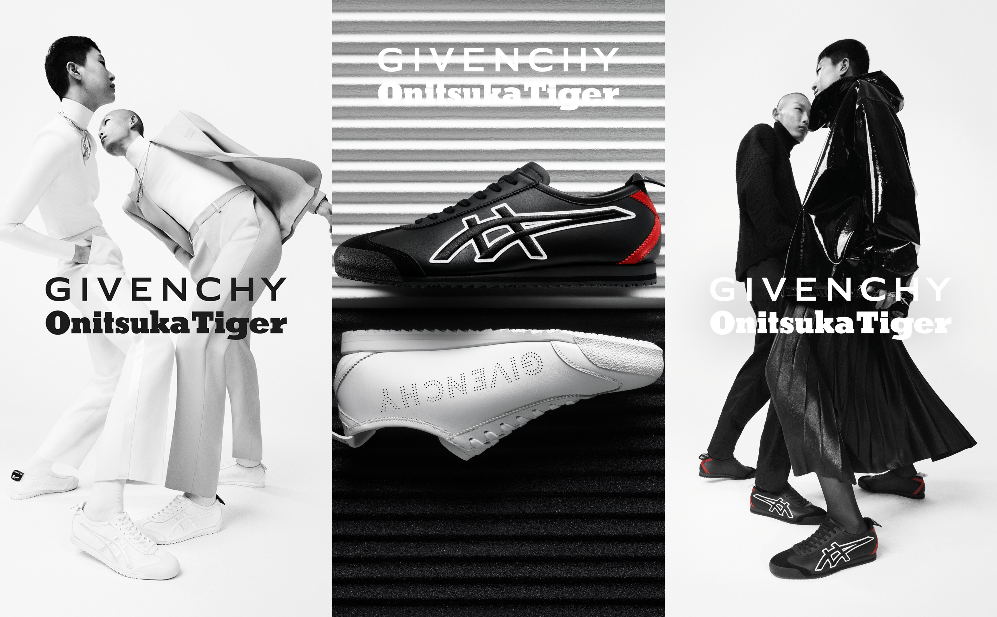 Givenchy and Onitsuka Tiger's surprise