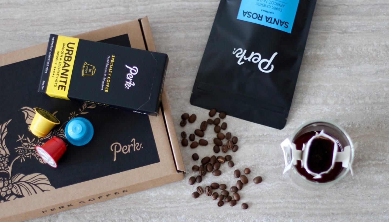 local coffee: Perk Coffee