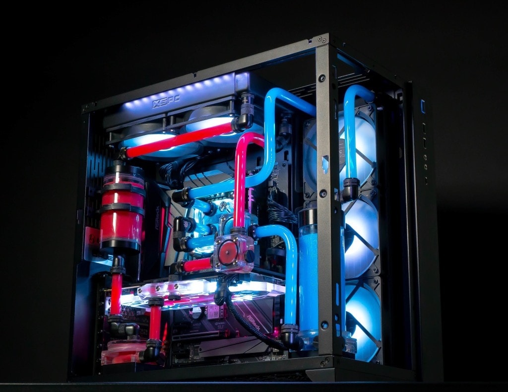 custom-built gaming PC