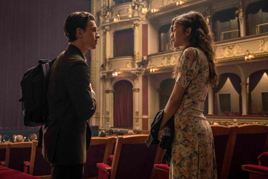 Spider-Man: Far From Home . Peter & MJ