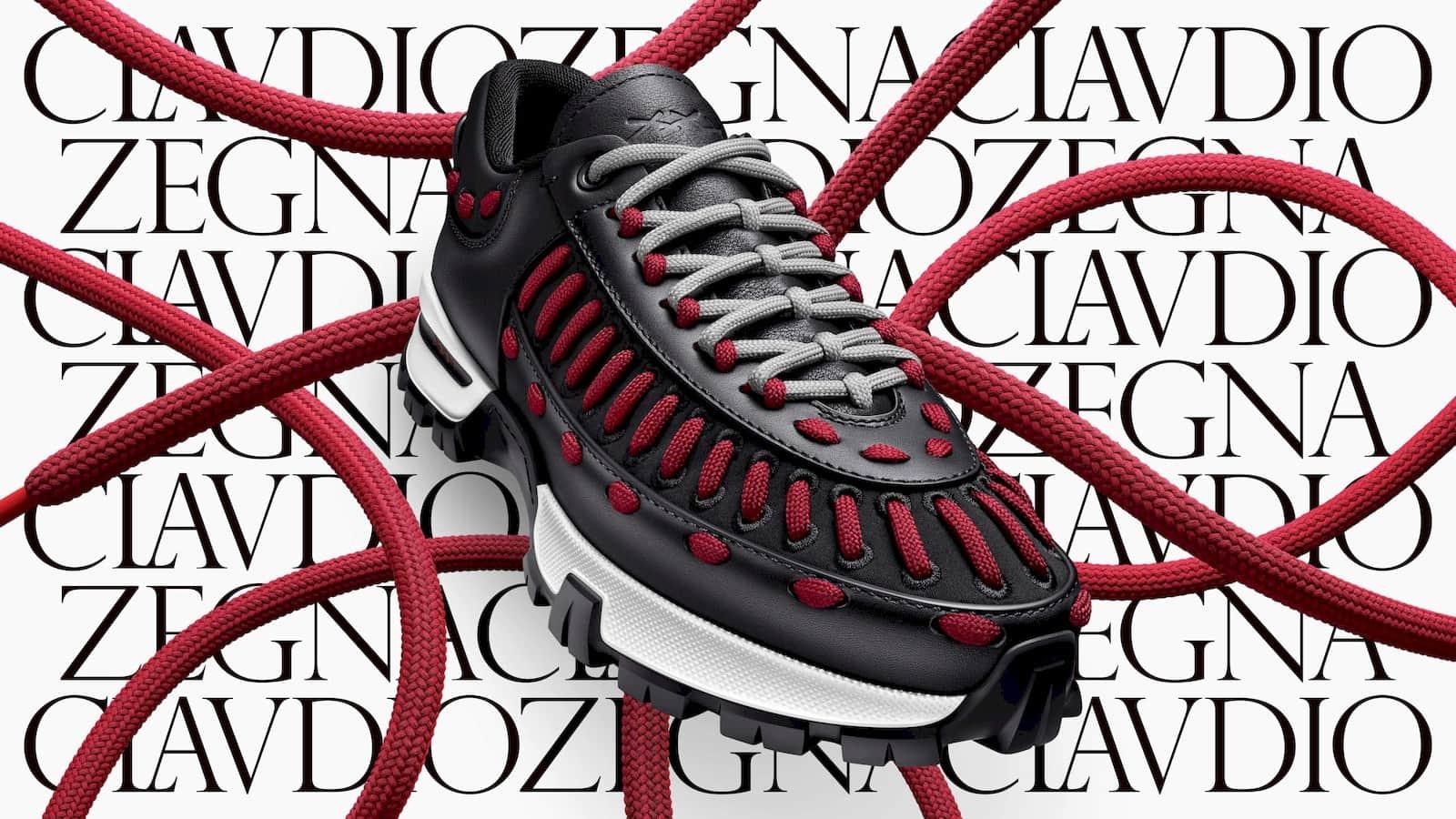 Ermenegildo Zegna lets you personalise its 'My Claudio' sneakers