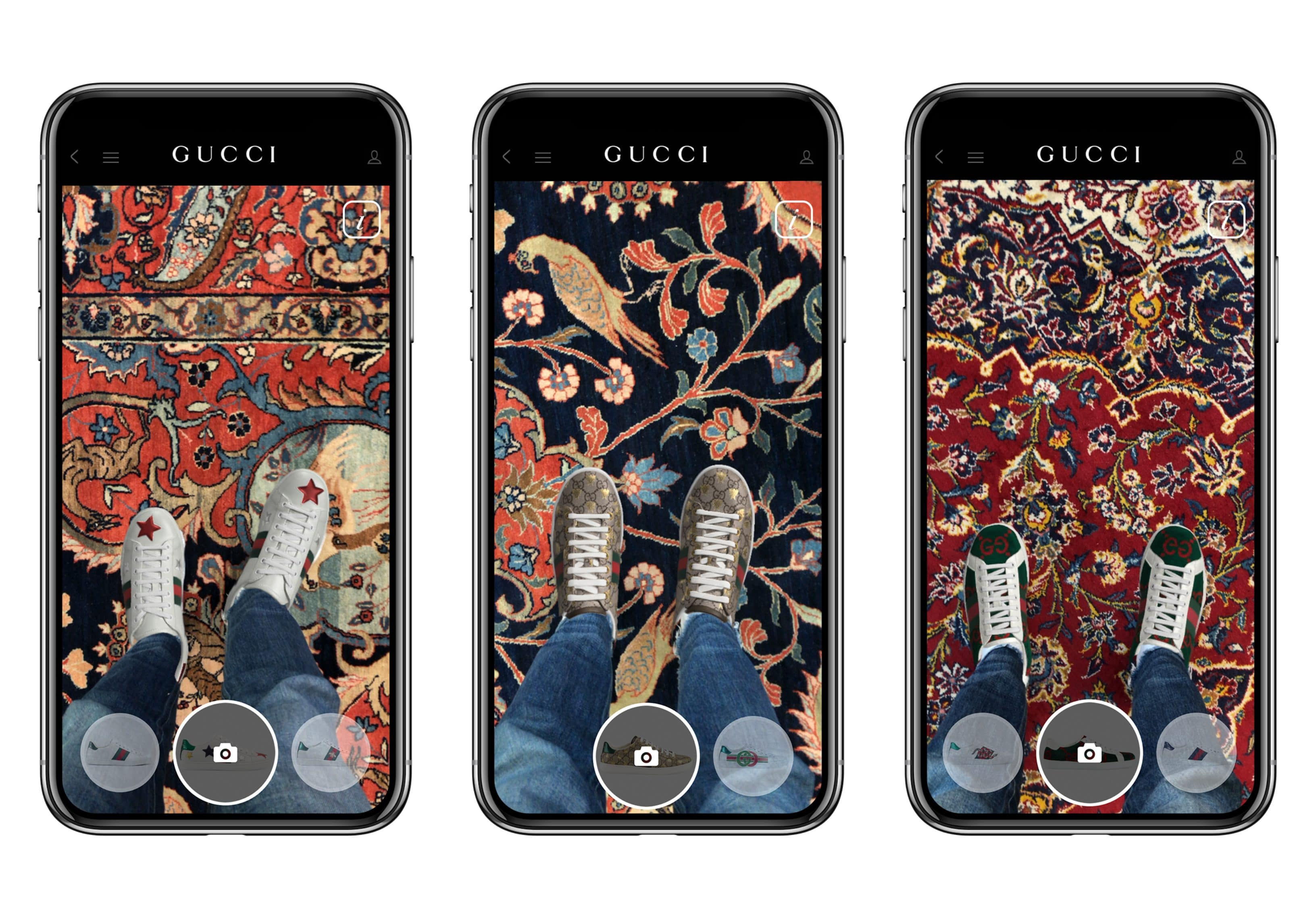 Gucci breaks fashion frontiers by leading the way into AR technology for shoes