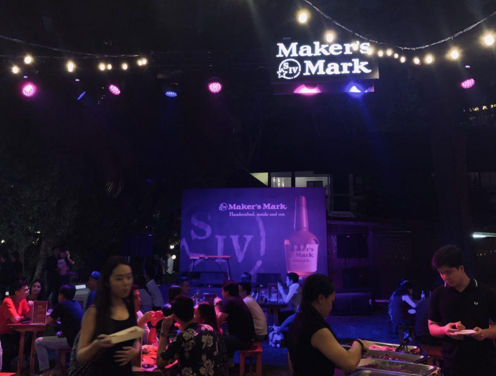 Maker's Mark pop-up