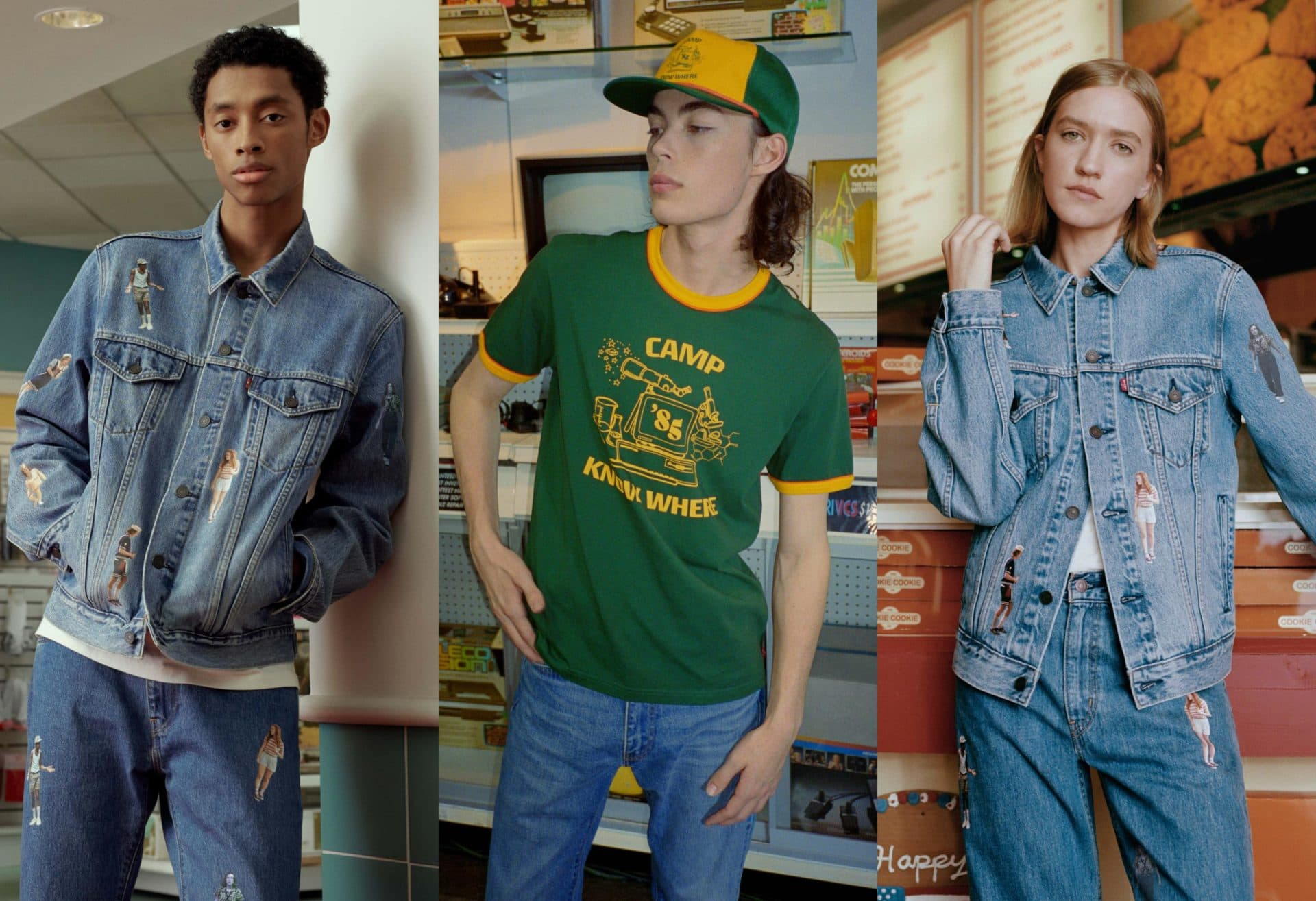 levi's x stranger things a celebration of 80s summer fashion