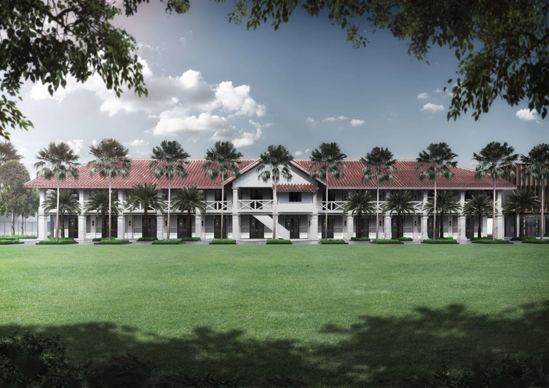 Get a taste of colonial luxury with The Barracks Hotel